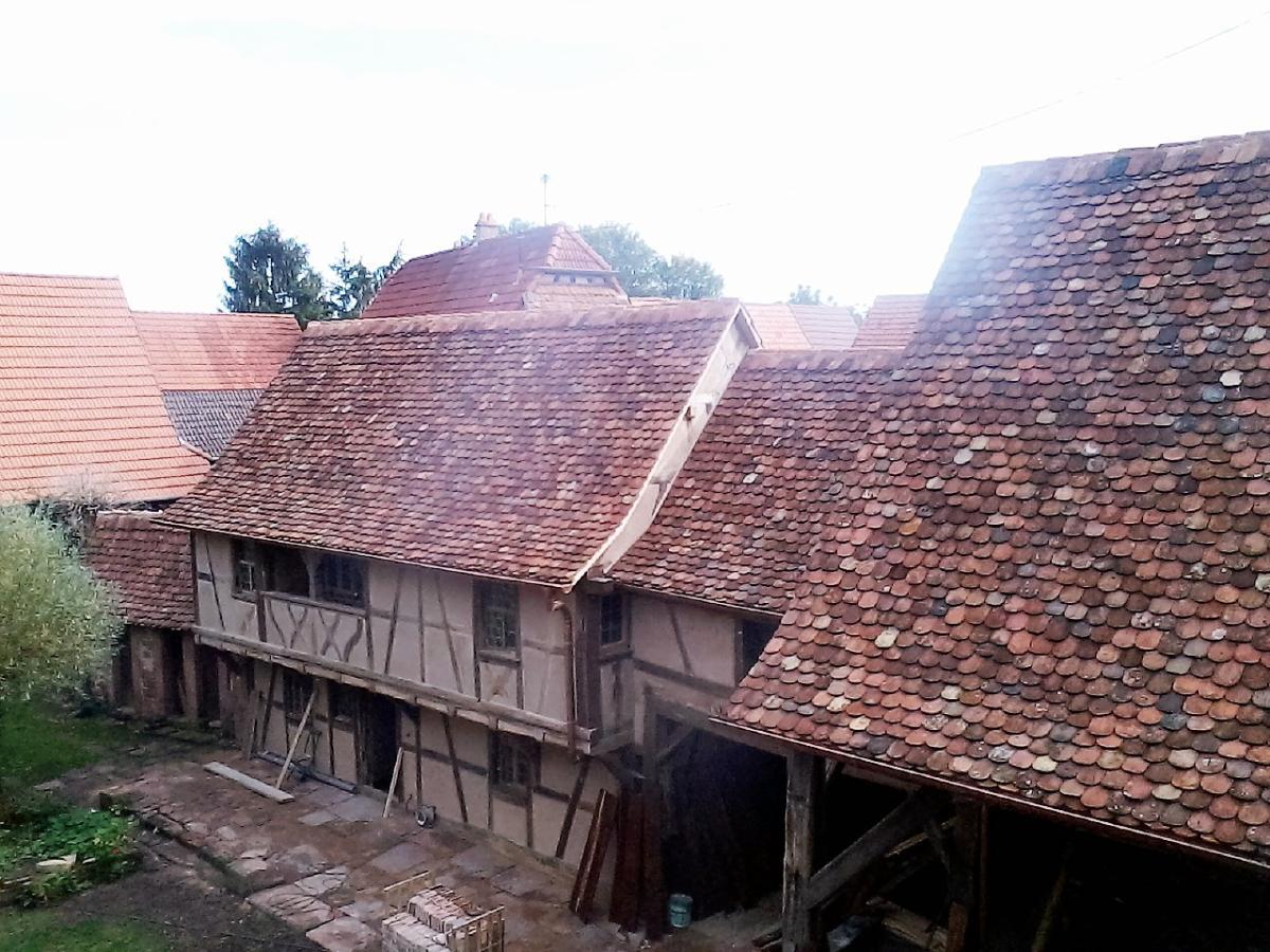 couverture toit alsacien